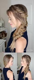 Dutch Fishtail Summer Side Braid Wedding Hair Hair Styles Short