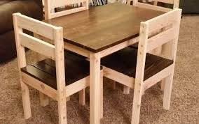 wood garden metal and wooden chair childrens folding diy set round argos table chairs kmart africa