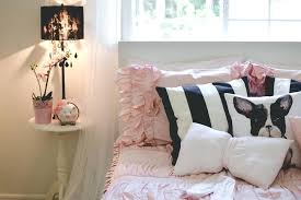 pink and gold girls bedding girls bedroom pink black