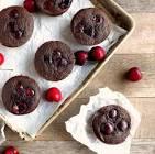 cherry buckwheat muffins