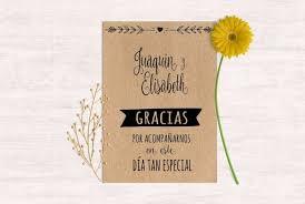 tarjeta de agradecimientos