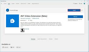 How To Enable Av1 Video Playback Support In Windows 10 Windows Central