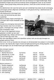 Clubblad Van Ruitersportvereniging De Ziende Rsv De Ziende Is