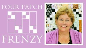 The Four Patch Frenzy Quilt: Easy Quilting Tutorial with Jenny ... & The Four Patch Frenzy Quilt: Easy Quilting Tutorial with Jenny Doan of  Missouri Star Quilt Co - YouTube Adamdwight.com