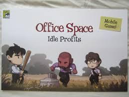 office space memorabilia. Exellent Office Office Space Idle Profits Mobile Game 2017 ComicCon Exclusive Poster For Memorabilia T