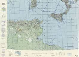 Pilot Charts Mediterranean Onc G 2 Available Operational Navigation Chart For Italy Mediterranean Sea Tunesia Algeria Lybia Available Additional Charts Available Within