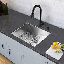 Pull Down Spray Kitchen Faucet Vigo Aylesbury Single Handle Pull Down Spray Kitchen Faucet
