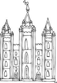 Small Picture LDS Temple Coloring Page LDS Temple Coloring Page Coloring