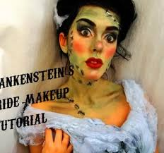 chatty frankenstein s bride makeup tutorial video by jessicagutteridge fawesome tv