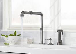 wall mounted kitchen faucet with sprayer new wall mount kitchen sink faucet awesome wall mounted stream