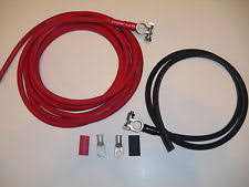 battery cable heavy gauge battery relocation kit cable wire harness kit 2awg weld cable