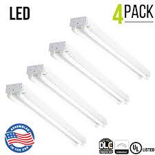 4 Led Shop Light Details About Led Shop Light 2 Lamp 4 Foot 4700 Lumen 36w 5000k Daylight Hardwire 4 Pack