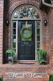 arched front doorTudor Arched Front Door  All Things Heart and Home