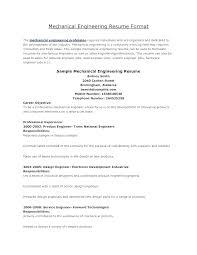 Graduate Structural Engineer Mechanical Cv Template Diploma