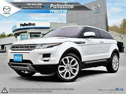 land rover evoque 2012. certified preowned 2012 land rover range evoque loaded will deliver l