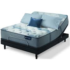 Mattress king Icomfort Icomfort Hybrid Blue Fusion 100firm Mattress King Serta 5008229911060 Icomfort Hybrid Blue Fusion 100 Firm Mattress King