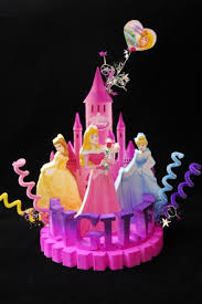 Disney Princess Cake Topper Centerpiece Adianezh On Artfire
