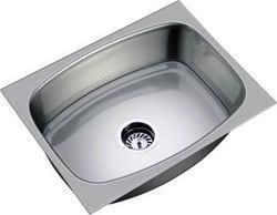 steel kitchen sink single tub