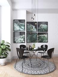 Decoration: Monochromatic Portrait Art Wall - Art