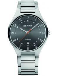 mens slim watches creative watch co bering men s titanium slim watch date