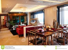 Modern Luxury Living Room Modern Luxury Living Room Dining Room Editorial Stock Image