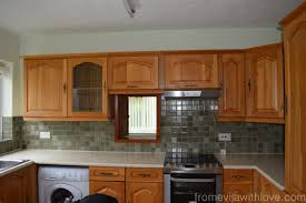 Easy Kitchen Makeover Quick And Easy Kitchen Makeover Diy Painted Cabinets From