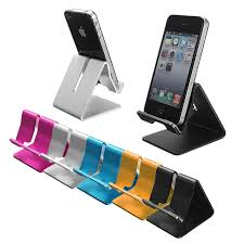 new design universal portable aluminium alloy desktop mobile cell phone tablet stand holder for iphone 5s 6 plus for ipad in mobile phone holders stands