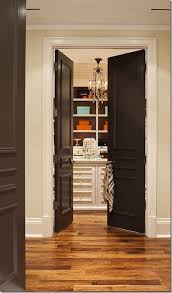 paint for interior doorsPainting Interior Doors Black  Southern Hospitality