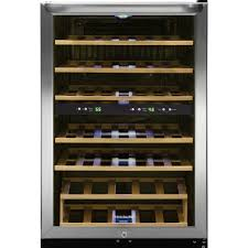 frigidaire bottle wine cooler with  temperature zones in
