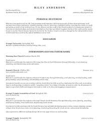 Pastor Resume Templates Interesting Pastoral Resume Template Ministry Resume Templates For Word Example