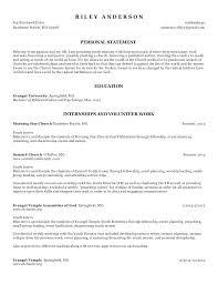 Pastoral Resume Interesting Pastoral Resume Template Ministry Resume Worship Ministry Resume
