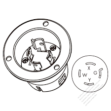 Awesome nema l14 30p wiring convex lens diagram