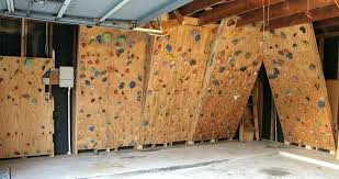 diy rock climbing wall for under 100 garage gym reviews climbing wall 1609 building a rock
