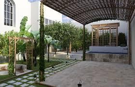 Modern Landscape Design Modern Classic Landscape Design Comelite Architecture