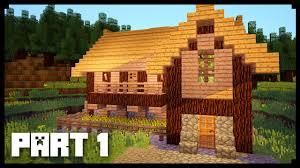 Minecraft Tavern Design Minecraft How To Build A Medieval Tavern Inn Tutorial Part 1 Simple Easy Tavern Inn