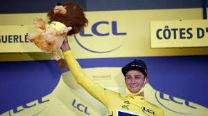 Van der Poel wins the second stage of the Tour de France and wears the  yellow jersey – News Block