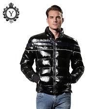 COUTUDI 2016 Mens Down Jacket Winter Fashion Premium Coldproof ... & COUTUDI 2016 Mens Down Jacket Winter Fashion Premium Coldproof Nylon Black  Stylish Parka Coats Sale Quilted Puffer Short Jacket-in Parkas from Men's  ... Adamdwight.com