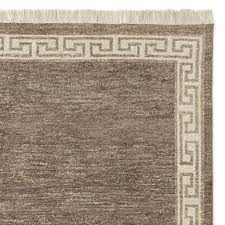 greek key border hand knotted rug hickory saved view larger roll over image to zoom