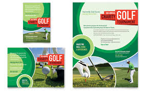 Golf Tournament Flyer Template Golf Tournament Flyer Ad Template Design