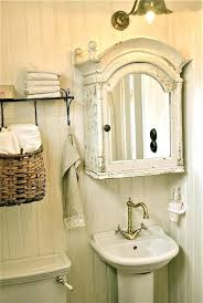 shabby chic bathroom lighting. Shabby Chic Bathroom Mirrors Mirror Cabinet Stylish Design Ideas . Lighting