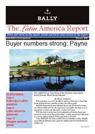 The Latin America Report by Wendy Gallagher - issuu