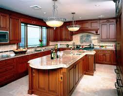 Decora Cabinets Natural Cherry Shaker Kitchen Cabinets Black Cherry