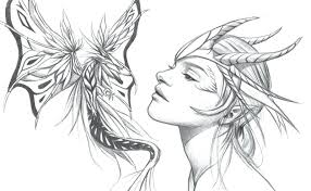 Coloring Pages Dragons And Fairies Printable Coloring Pages Dragons