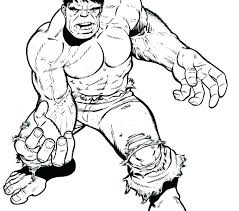 printable hulk coloring pages red page incredible free colouring