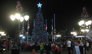 Tree Lighting Jacksonville Landing Holiday Tree Tradition Lights Up Downtown And Beyond