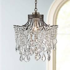 ceiling lights plug in pendant light fixtures white swag style plug in chandelier crystal basket