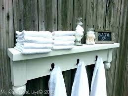white floating shelves bathroom towel bar shelves towel bar with shelves white rack bathroom floating shelf white floating shelves