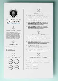 Cool Resume Templates Free Interesting Creative Resume Templates Free Download For Microsoft Word Awesome