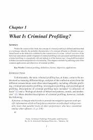 what is criminal profiling springer criminal profiling criminal profiling