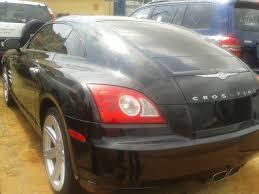 chrysler crossfire black interior. chrysler crossfire 2004 interior grey externalblack transmission manual milleage103741 year black l